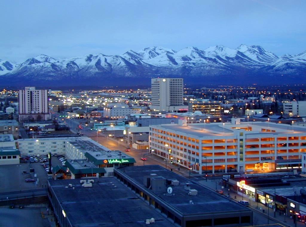 На Аляску везут снег
