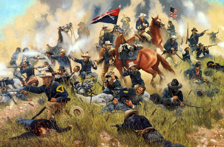 an analysis of the outcome of the involvement of colonel custer in the battle of the little bighorn