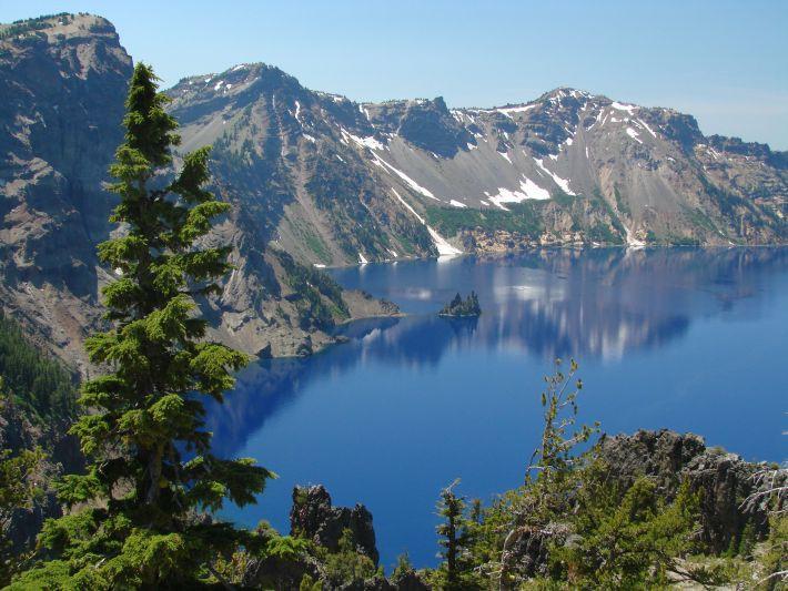 Самое глубокое озеро в штате орегон