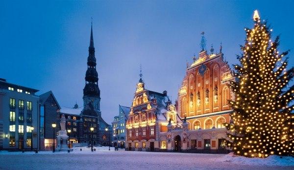 Новогодние каникулы в европе