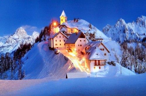 Отдых зимой в европе в горах дома в дубае красивые