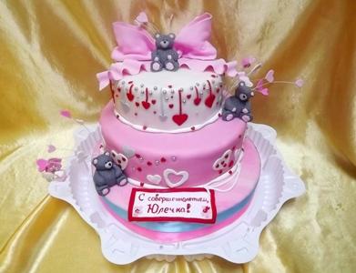 Детский торт на день рождения для девочки заказ